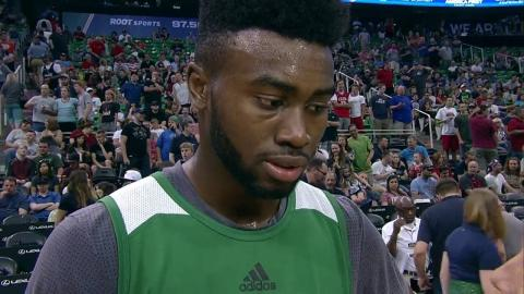 Jaylen Brown Summer League Debut