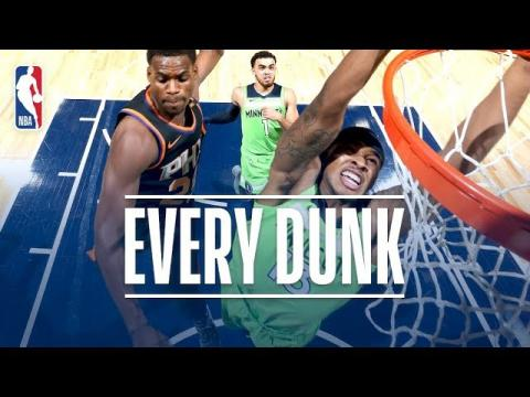 LeBron James, Donovan Mitchell, Tarik Black and Every Dunk From Saturday Night | Dec. 16, 2017
