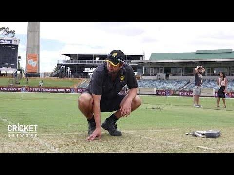 WACA curator prepares for final Ashes pitch