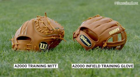 Aso & Brandon Phillips Introduce the Wilson A2000 Training Glove & Mitt