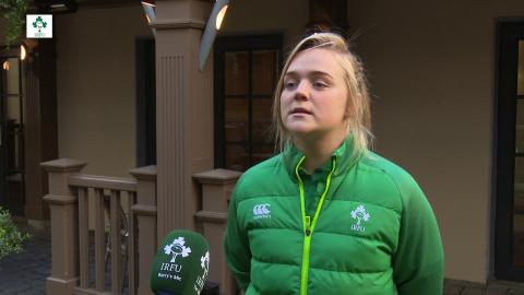 Irish Rugby TV: Cliodhna Moloney Previews Ireland Women's Clash With Italy
