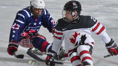 Team USA Edges Canada, 2-1, in Overtime at 2016 (Dec.) WSHC
