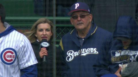 MIL@CHC: Espino's father on his son's first start