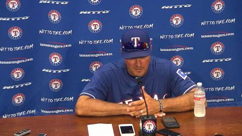 CIN@TEX: Banister on Hamels and rotation's injuries