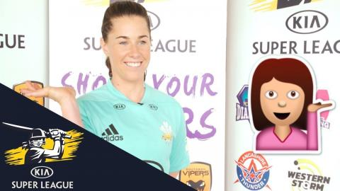 Quick Fire Questions With England's Tammy Beaumont - Kia Super League 2017