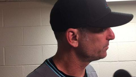 ARI@CHC: Lovullo on giving up 16 runs against Cubs