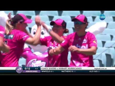Sydney Sixers v Hobart Hurricanes, BBL|07