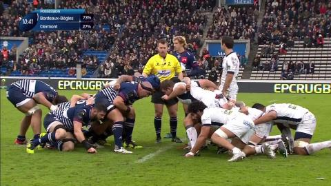 European Rugby Challenge Cup 2016/2017: R5 - Bordeaux Begles vs Clermont 15.01.2017