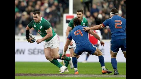 Slcik flick pass from Healy leads to Irish break! | NatWest 6 Nations