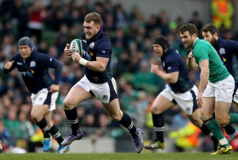 Stuart Hogg scores superb 55 metre try! | RBS 6 Nations
