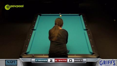 #1 - 10 BALL - Jeannie SEAVER vs Suzanne SMITH - 2017 NAPT Desert Challenge