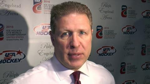 U18 Worlds: Postgame Comments - USA vs. FIN (4/23/16)