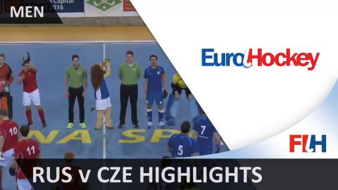 Russia v Czech Republic - Bronze Medal Match Highlights - Men's EuroHockey Indoor Championships