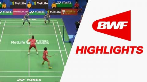 Yonex-Sunrise Hong Kong Open 2017   Badminton F – Highlights