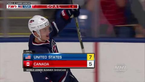 2017 WJSS Highlights: USA 7, Canada 5