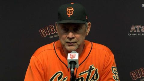 PHI@SF: Bochy discusses the big win over the Phillies