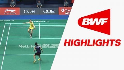 OUE Singapore Open 2017 | Badminton F – Highlights