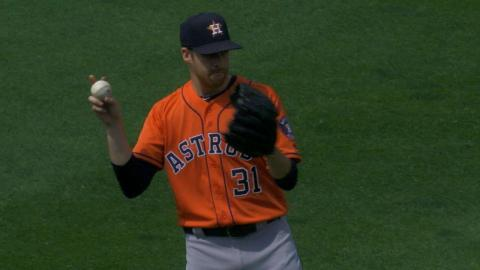 HOU@PIT: McHugh fans four batters over five innings