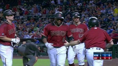 Weeks Jr. strikes again with second home run