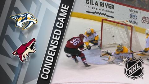 01/04/18 Condensed Game: Predators @ Coyotes