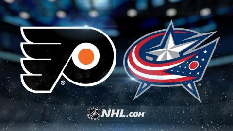 Couturier scores in OT, Flyers snap skid in Columbus