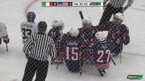 2017 WSHC Highlights: Team USA 5, Italy 1 (Semifinals)