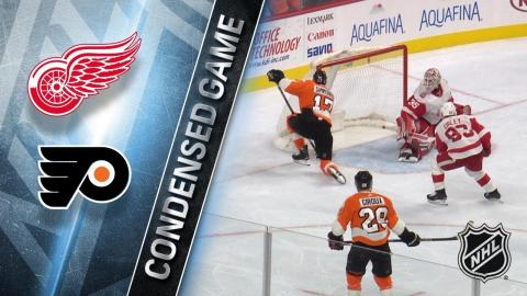 12/20/17 Condensed Game: Red Wings @ Flyers