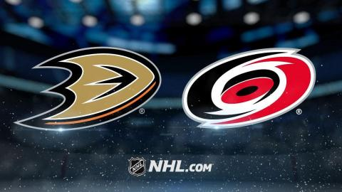 Miller, Ducks top Hurricanes in shootout, 4-3