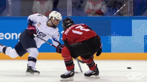 2018 Winter Olympics: U.S. Women Fall to Canada 2-1