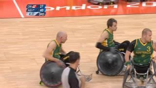 Wheelchair Rugby - Australia V Canada - Gold Medal Game - London 2012Paralympics