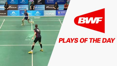 Plays Of The Day | Badminton F – SKYCITY New Zealand Open 2016
