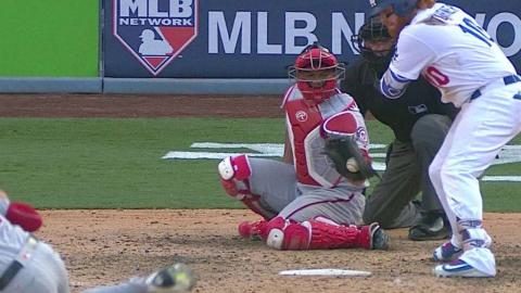 WSH@LAD Gm3: Kelley catches Turner looking to end 7th