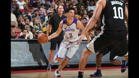 Full Highlights: Lonzo Ball's MGM Resorts NBA Summer League Debut | 07.07.17