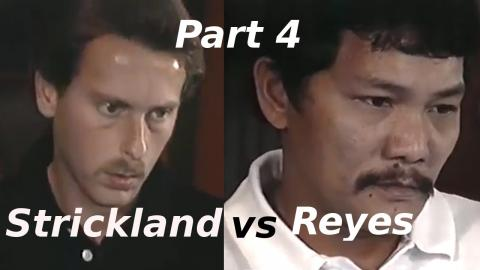 Efren Reyes vs Earl Strickland $100,000 The Color of Money Challenge Match Part 4 of 5