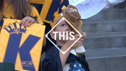 #THIS: Young fan rules King's Court with turkey leg
