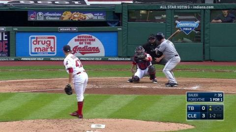 TB@CLE: Bauer surprised he fanned Forsythe