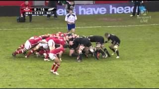 Rugby Test Match- Wales Vs New Zealand 2012 Full Game
