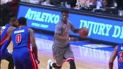 Jimmy Butler First Career Triple-Double