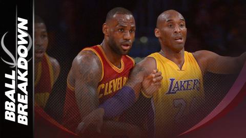 Kobe Bryant vs LeBron James: Kobe Wins The Battle, LeBron Wins The War