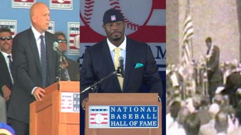 Greatest Hall of Fame speech moments