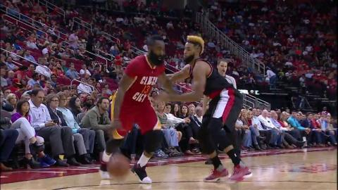 James Harden Notches Another Triple Double in Win