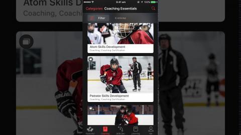 Coaching - iOS