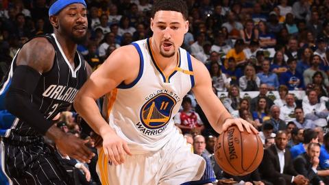 Klay Thompson Scores 21 Points In One Quarter! Finishes With 29 Points