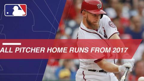 Pitchers Who Rake: 2017's pitcher homer runs
