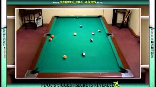Pool's Biggest Secrets Revealed 3 - Controlling The Cue Ball!