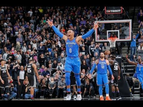 Russell Westbrook, Stephen Curry, and the Best Plays From Thursday Night   February 22, 2018
