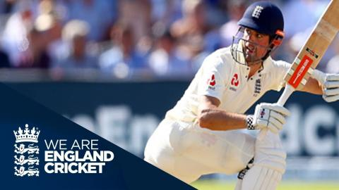 Ali and Cook Strengthen England's Hold - Highlights: England v South Africa 1st Test Day 3 2017