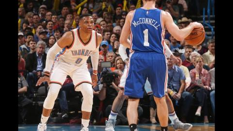 Westbrook Notches 1st PERFECT Triple-Double In NBA History! | March 22, 2017