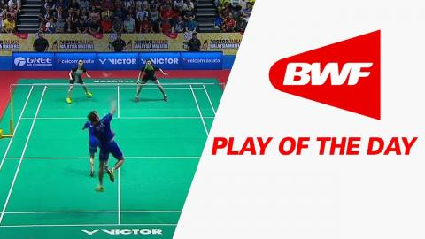 Play Of The Day | Badminton SF - Victor Far East Malaysia Masters 2017