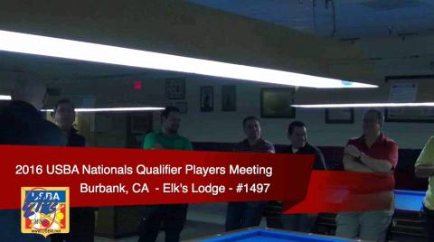 USBA Nationals Qualifier / Player's Meeting - Pt 1